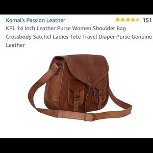 a03b40bdae23 Komal Bags - Leather satchel crossbody